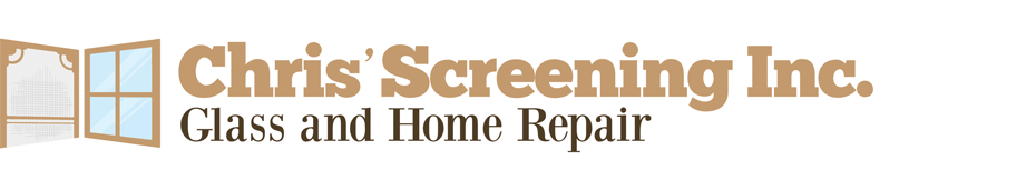 Window Screen Replacement Toronto - Chris' Screening & Glass Logo